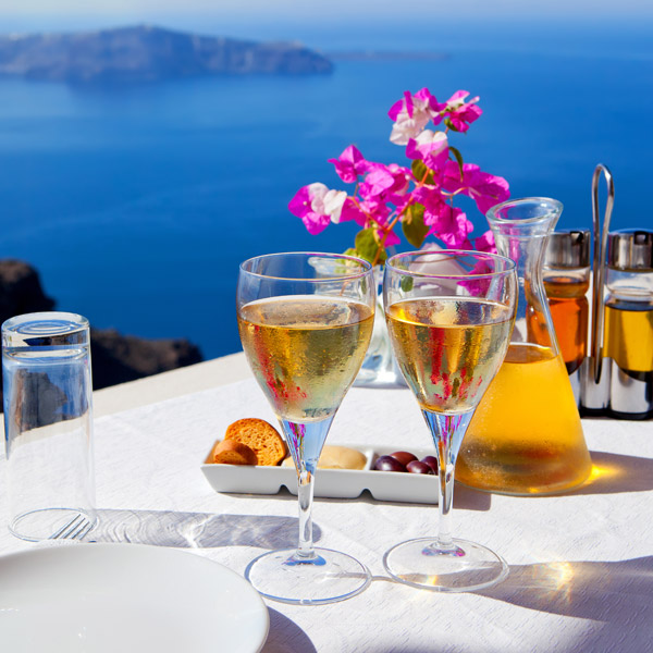 Santorini restaurants